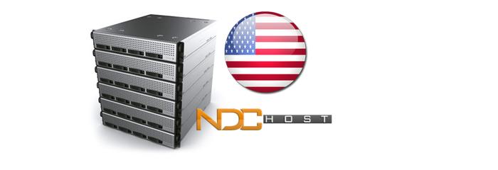 سرور اختصاصی NDC آمریکا